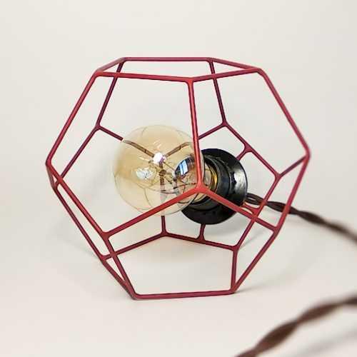 Светильник в додекаэдре
