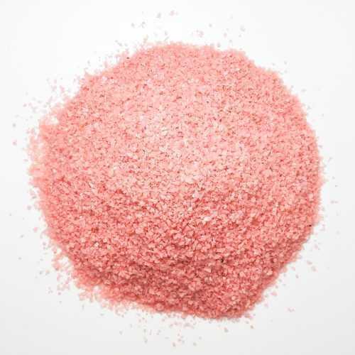 Песок крупный розовый для декора - Все для флорариума