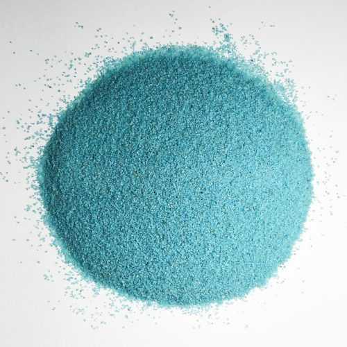 Песок мелкий бирюзовый - Все для флорариума