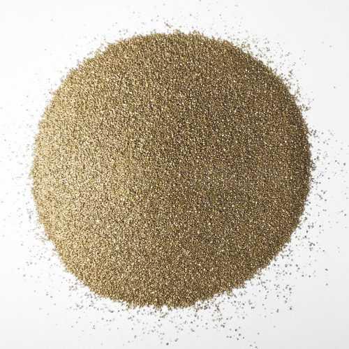 Песок мелкий золотистый для декора - Все для флорариума