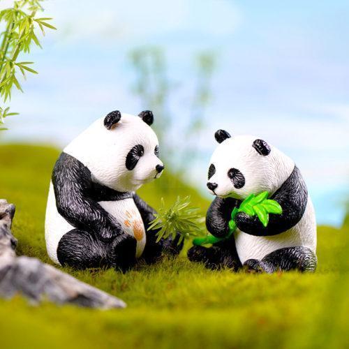 Декоративные фигурки для флорариума Панды