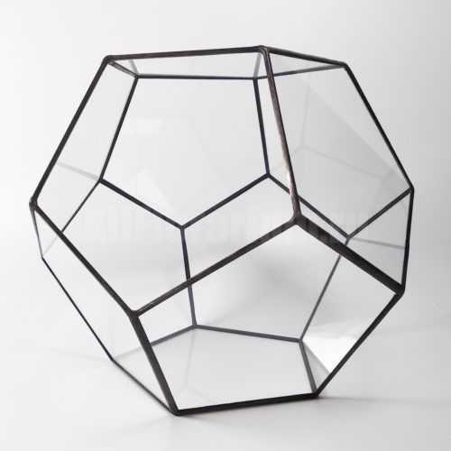 Геометрическая ваза Додекаэдр