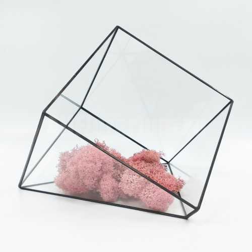 Геометрическая ваза Куб усеченный #2