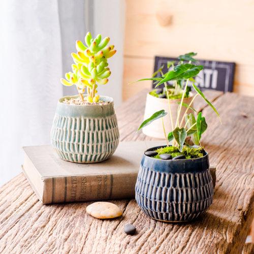 Горшки для растений Рябь