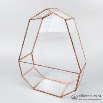 Геометрическая ваза Яйцо плоское
