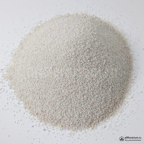 Песок мелкий белый - Все для флорариума