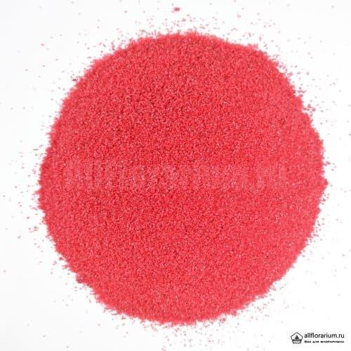 Песок мелкий красный - Все для флорариума