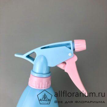 Пульверизатор средний розово-голубой